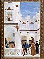Perugino (attr.), miracolo del bambino nato morto, da storie di san bernardino.jpg