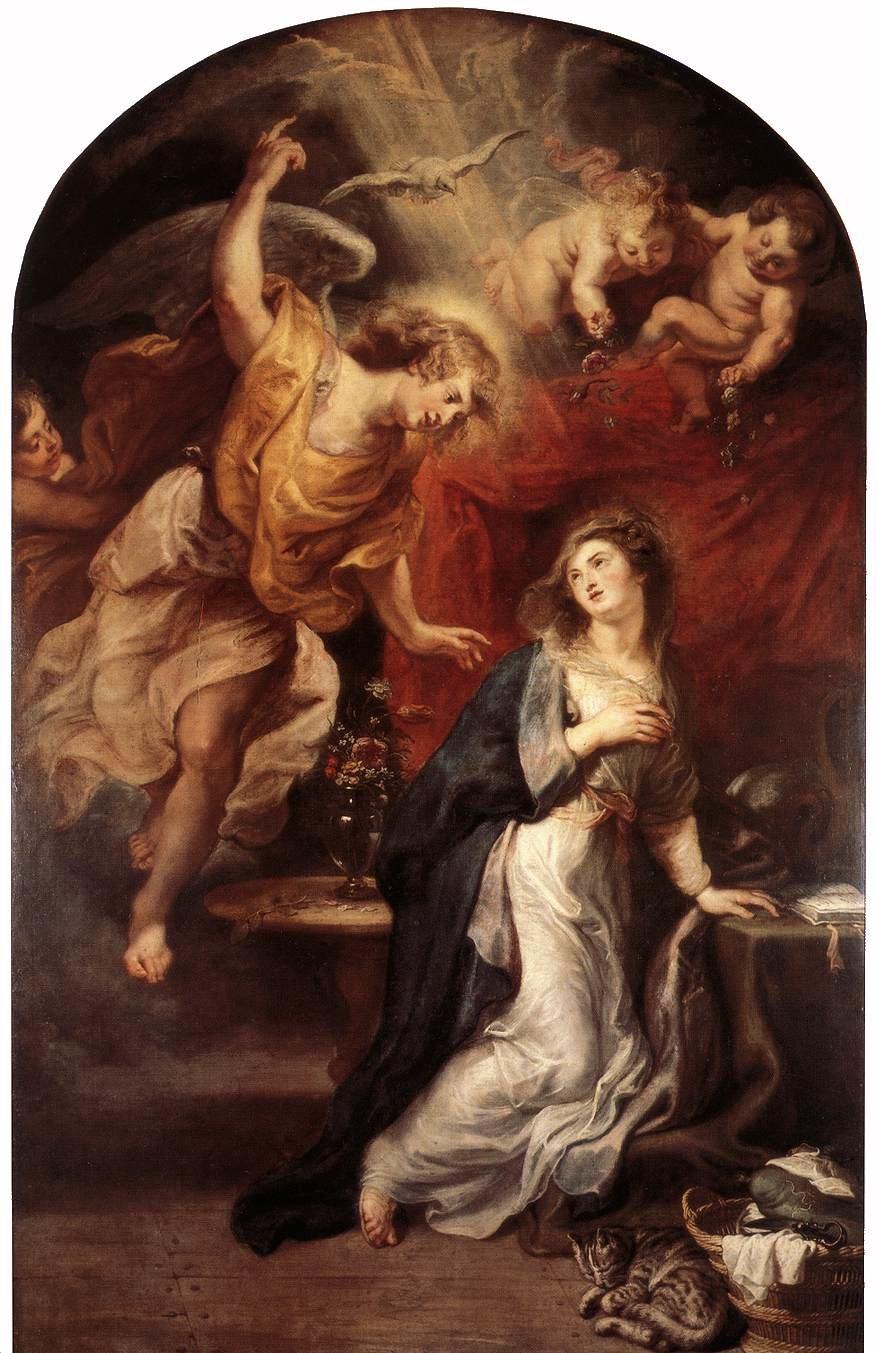 Peter Paul Rubens - Annunciation - WGA20250