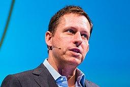 Peter Thiel by Dan Taylor