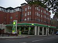 Petrol Station and Flats, Vauxhall Bridge Road, SW1 - geograph.org.uk - 598330.jpg