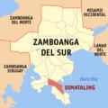 Ph locator zamboanga del sur dimataling.png