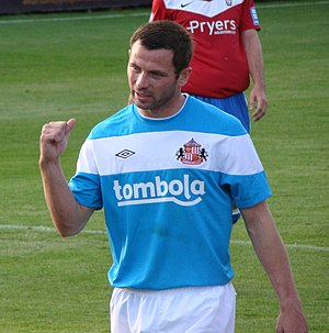 Phil Bardsley - Bardsley for Sunderland in a pre-season friendly against York City