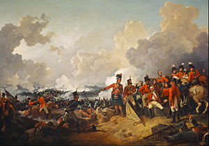 Battle of Alexandria - The Battle of Alexandria, 21 March 1801 Painting by Philip James de Loutherbourg