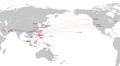 Philippine Airlines Route Map International.png