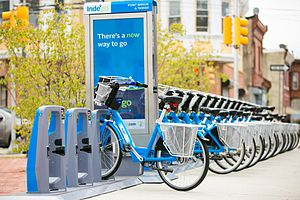 Bicycle-sharing system - The Indego system in Philadelphia