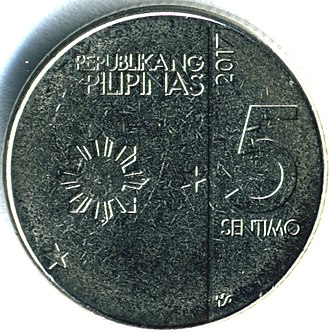New Generation Currency Series - Image: Philngc 5sentob