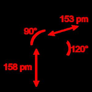 Phosphorus pentafluoride - Image: Phosphorus pentafluoride 2D dimensions