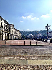 Piazza vittorio veneto torino
