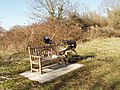 Picnic bench, Hambleden Valley - geograph.org.uk - 692578.jpg