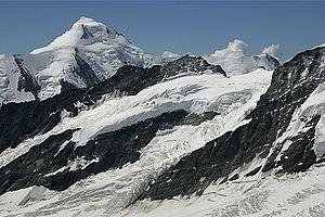 Jungfraujoch: Aletschhorn