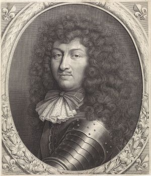 Pieter van Schuppen - Portrait of Louis XIV of France