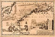 New England map of 1707