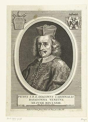 Bernard de Bailliu - Portrait of Pietro Cardinal Basadonna after Godfrey Kneller