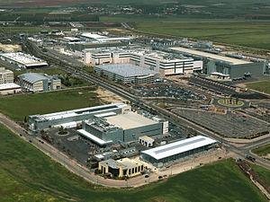 Maxine Fassberg - Intel fabrication plant in Kiryat Gat, c. 2008