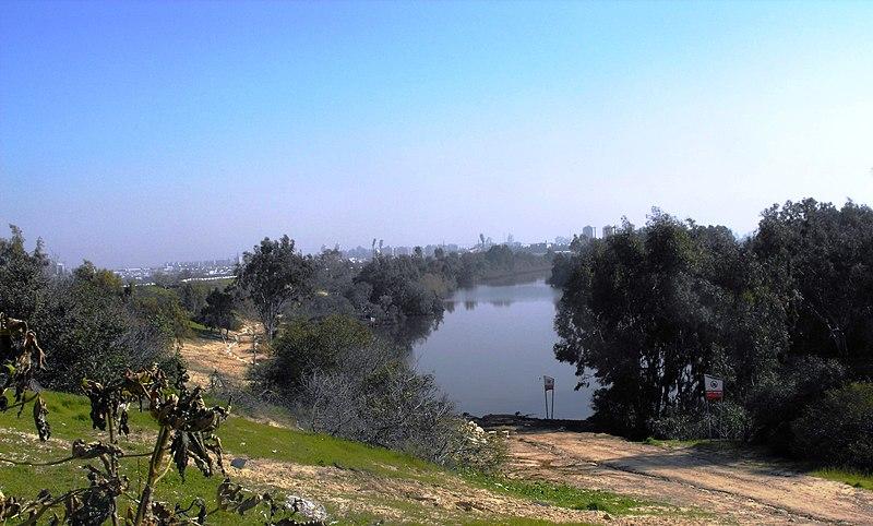 אגם הנקיק בראשון-לציון