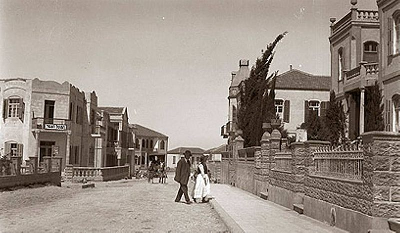 תל אביב - רחוב השחר