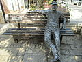 PikiWiki Israel 45271 Lunch Break sculpture in Zikhron Yaakov.JPG