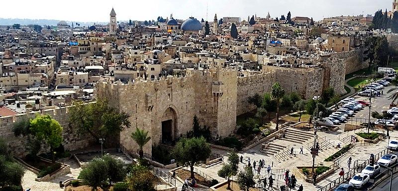 שער שכם בחומת ירושלים