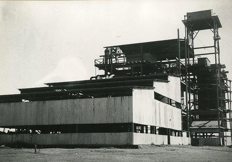 מבנה במפעל האשלג