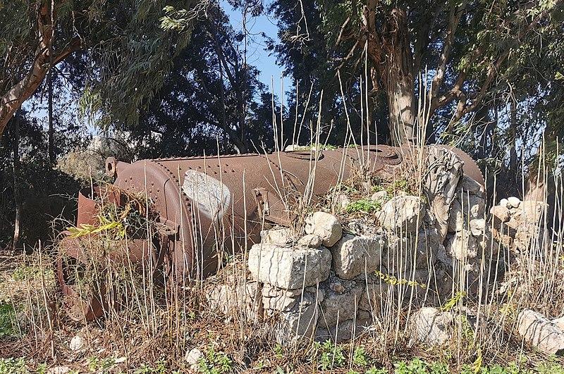 דוד הקיטור בהר-טוב
