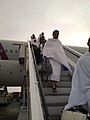 Pilgrims arrive in Jeddah - Flickr - Al Jazeera English.jpg