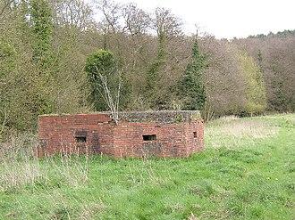 Waverley Abbey - Pillbox near Waverley Abbey