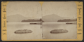 "Pilot Mountain. Mohican Dock. ""Jimmie's rock."", by Stoddard, Seneca Ray, 1844-1917 , 1844-1917.png"