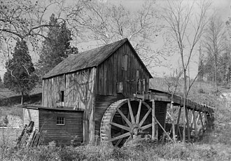 Fairfax County, Virginia - Piney Branch Mill, southeast of Fairfax city, Historic American Buildings Survey