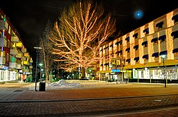 I centrum af Piteå.