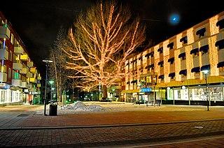 Piteå Place in Norrbotten, Sweden