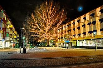 Piteå - The city square