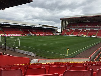 Scottish Premiership - Image: Pittodrie from Block Y, May 2015