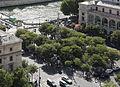 Place du Châtelet from Tour Saint-Jacques, 17 August 2013.jpg