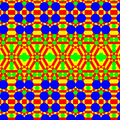 Planar Tiling with all 14 Plangions Semiplanigons (Uniform 92 Tiling).png