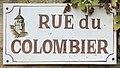 Plaque Rue Colombier - Vault-de-Lugny (FR89) - 2021-05-17 - 1.jpg
