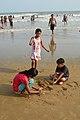 Playful Children - New Digha Beach - East Midnapore 2015-05-01 8825.JPG