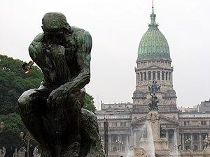 Plaza del Congreso, Buenos Aires, Argentina. E...