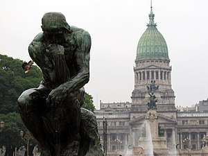 English: Plaza del Congreso, Buenos Aires, Arg...