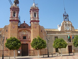 Fuente Palmera - Church and Town Hall