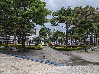 Ibagué - Plaza de Bolívar, the city's main park.