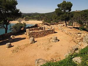 Castell de la Fosca - Image: Poblado ibérico de Castell Palamós