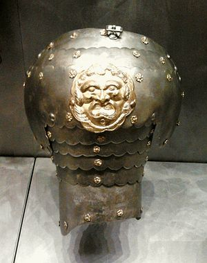 Pauldron - Right pauldron of hussar's armor, 17th century, District Museum in Tarnów