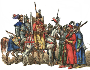 Military of the Polish–Lithuanian Commonwealth - Image: Polish Lithuanian Army 1576 1586