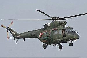 PZL W-3 Sokół - A W-3 Sokół of the Polish Army