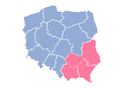 Polish regional LGBT free zones July 2019.png