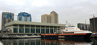 Port of Baku - The passenger terminal