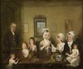 Porträtt av familjen Latrobe of Fulneck (Elias Martin) - Nationalmuseum - 31869.tif