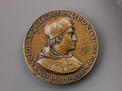Portrait medal of Cardinal Francesco degli Alidosi (obverse); Jupiter and Signs of the Zodiac (reverse) MET 1274r.jpg