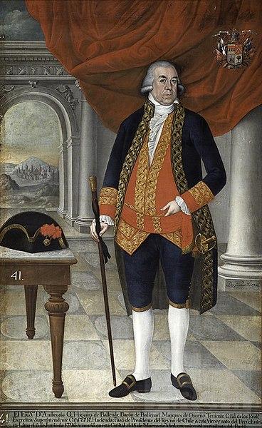 Ambrosio O'Higgins.