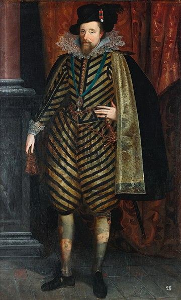 Portrait of King James I & VI (1618-1620)